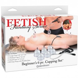 FETISH FANTASY SET SUCCION 6 PIEZAS