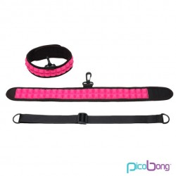 PICOBONG SPEAK NO EVIL CHOKER CERISE