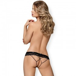 OBSESSIVE - 854-PAC-1 CROTHLESS PANTIES L/XL