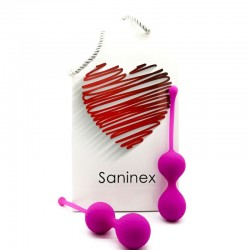 SANINEX DOUBLE CLEVER BALLS PURPLE
