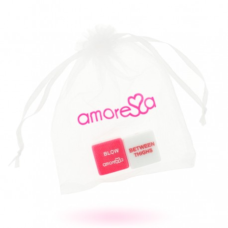 AMORESSA PASSION DICE FOR COUPLES (ENGLISH)