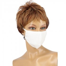COVID-19 COTTON MASK - WHITE