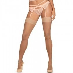 OBSESSIVE - S800 NUDE COLOUR STOCKING