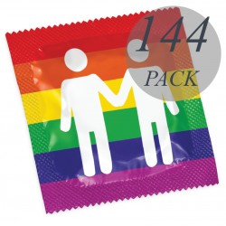 THROUGH FORMAT GAY PRIDE 144 PACK