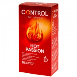 CONTROL HOT PASSION WARMING EFFECT 10 UNITS